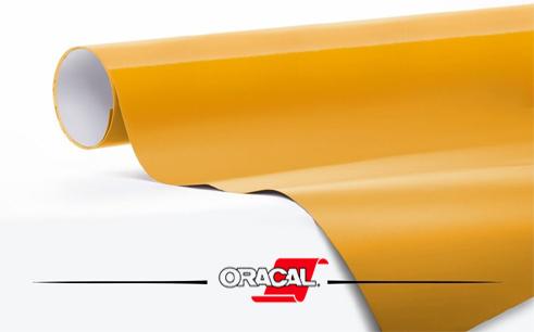 Oracal-Golden Yellow RAL 1028 Goud Geel