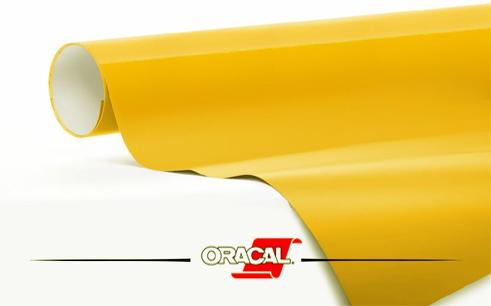 Oracal-Light Yellow licht geel