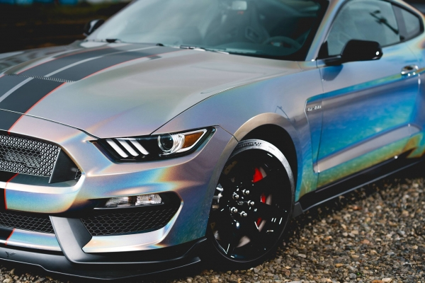 Car wrapping Gloss Psychedelic GP281 ford