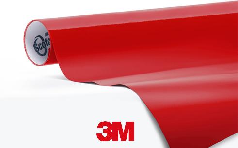 3M-1080-G83-Gloss-Dark-Red Snelwrapfolie