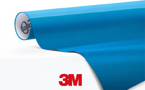 1080-M227-Matte-Blue-Metallic-Snelwrapfolie