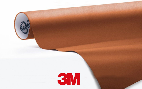 1080-M229-Matte-copper-Snelwrapfolie