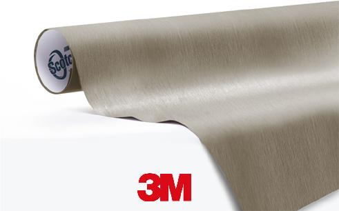 1080-BR230-Brushed-Titanium-Geborsteld -Snelwrapfolie