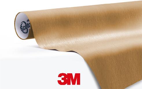 1080-BR241-Brushed-Gold-snelwrapfolie